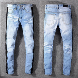 $enCountryForm.capitalKeyWord Australia - 2019 Summer New Man Up Jeans Washing In Waist Small Straight Foot Trousers#591