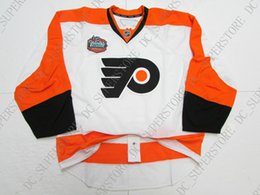 58b21a24a Cheap custom PHILADELPHIA FLYERS 2010 WINTER CLASSIC JERSEY stitch add any  number any name Hockey Jersey XS-5XL