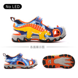 $enCountryForm.capitalKeyWord Australia - Dinoskulls 3d Dinosaur Sandals Boys Summer New Children's Fashion Design Shoes Anti-slip Kids Closed Toe Beach Sandals Eur 27-34 Y19062001
