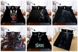 Cartoon 3d Movie Australia - Miracle Movie Avenger Alliance Venom role 3D printing Lifelike Duvet Cover Comforters sets Bedding Sets,Twin ,Full,Queen ,King