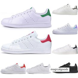 tv springs NZ - 2020 Smith Running shoes Cheap Raf Simons Stan Smiths Spring Copper White Pink Black Fashion Men Leather brand women Sneaker