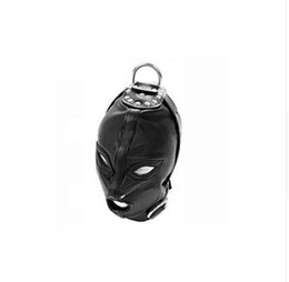 $enCountryForm.capitalKeyWord Australia - Sex toys, sexual mask masks, BDSM adhesive caps, leather masks, slave openings and eye mask toys for adult head gear products.