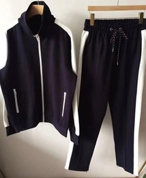 $enCountryForm.capitalKeyWord Canada - 2019 New Tracksuit Jackets Set Fashion Running Tracksuits Men Sports Suit Letter printing Slim Clothing Track Kit Medusa Sportswear m-xxl