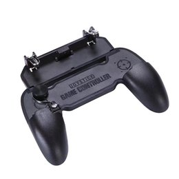 joystick game controllers UK - W11 Mobile Gamepad Game Handle Mobile Phone Shell Case Gamepad Holder Joystick Fire Trigger All In One For Pubg Free DHL