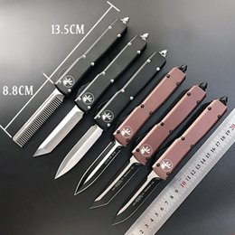 $enCountryForm.capitalKeyWord Australia - Special Offer!Micro-tech UTX-85 UTX-70 Automatic knife CNC action tactical cutter gear knives D2 blade tactical knife edc pocket knifes