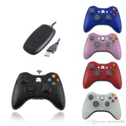 wireless pc controller games Australia - Top Quality Wireless Controller For XBOX 360 PS3 PC Controle Wireless Joystick For Official Microsoft XBOX Game Controller DHL Free Shipping