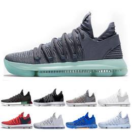 4e58c332769ee9 KD 10 Kevin Durant Men Basketball Shoes Oreo BHM White black Numbers  Anniversary Stucco Igloo Multi Color 10 X Sports Sneaker Shoe
