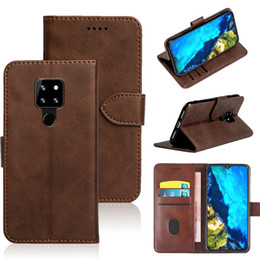 Wholesale cubot mobile phones for sale - Group buy Suitable Case For Cubot P30 J7 Max R15 R19 X19 PU leather clamshell bracket type anti fall mobile phone leather case luxury retro