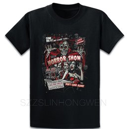 Horror-Film Monsters Spook Show-T-Shirt Bilder beiläufige S-5xl Personalisierte Short Sleeve Sommer Slim Fit Shirt