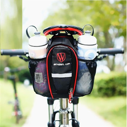 Accessories Water Bag NZ - 2018 NEW MTB Road Bike Seat Rear Tail Nylon Bag Can Put Two Water Bottle Bicycle Spike Bag Bike Accessories For Outdoor&Sport A2 #288032