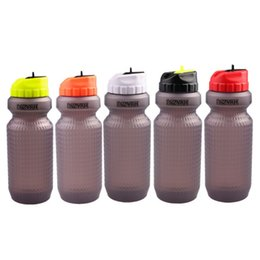 white sports water bottle NZ - Portable Bike Water Bottle Mountain Road Bike Riding Kettle Squeeze Cycling Kettle Squeeze Water Bottle Outdoor Sports Fitness
