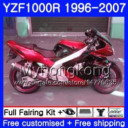 $enCountryForm.capitalKeyWord Australia - Body For YAMAHA YZF1000R Thunderace Dark red hot 02 03 04 05 06 07 238HM.50 YZF 1000R YZF-1000R 2002 2003 2004 2005 2006 2007 Fairing kit