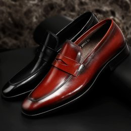 Cowhide Dress Shoes NZ - Charm2019 Archives High Man Business Affairs Correct Dress Leather Shoes You Head Layer Cowhide Set Foot