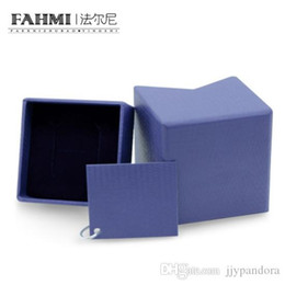 $enCountryForm.capitalKeyWord NZ - FAHMI Retro Ring Earrings Protective Box Simple Gift Packaging Box Original Women Wedding Jewelry Factory Direct Sales