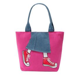 446cbb81fc44 Sleeper  401 2019 Womens Purse Zipper Pachwork Cowboy Canvas Shoulder Bag  Messenger Bag FASHION DESIGN hand hot Free Shipping