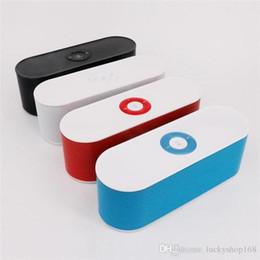 Good Audio Player Australia - New S207 Bluetooth Speaker Portable Wireless Loudspeaker Handsfree Support TF Card USB AUX Good Sound Audio Player Free DHL