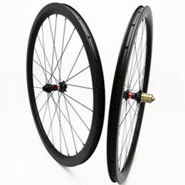 tubeless bicycle 2019 - bicycle wheel 700c wheelset 38mm carbon wheel D411 412SB Disc brake 24 28H XD hub 1580g carbon wheelset 700c clincher tu