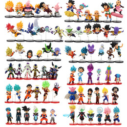 $enCountryForm.capitalKeyWord Australia - 6pcs lot Dragon Ball Figure Goku Gohan Vegeta Trunks Kale Jiren Cell Frieza Gotenks Buu Piccolo Beerus Zamasu WCF Model Toy Y190529