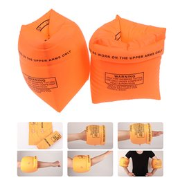 $enCountryForm.capitalKeyWord Australia - 2pcs Protable PVC New Swimming Arm Band Ring Floating Inflatable Sleeves For Adult Child