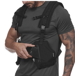 OutdOOr tactical vest online shopping - Men s Outdoor Sports Training Cycling Tank Tops Fitness Active Multi functional Tactical Vests Wear resistant Protective Jersey For Boys