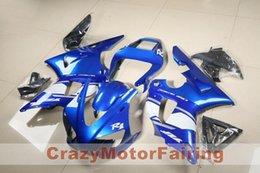 $enCountryForm.capitalKeyWord Australia - New ABS Mold motorcycle plastic Fairings Kits Fit For YAMAHA YZF-R1-1000 2000-2001 00 01 High quality Fairing bodywork Custom blue