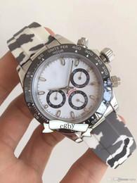 High End Sports Watches Australia - High-end 3A men's mechanical watch.116500LN series color rubber band.High quality steel.Men's mechanical watch sports watch
