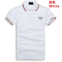 Business Casual Polo Australia - Spring Autumn Men's Short-sleeved Polo Shirt Lapel Spell Color Breathable 100% Cotton Casual Business Polo Shirt Bapalu Brand Q190426