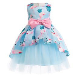 Obedient Elegant Children Girls Princess Dress Flower Girl Wedding Dress Kids Dresses For Girls Party Dress Vestido 3 4 5 6 7 8 9 10 Year Girls' Clothing Dresses