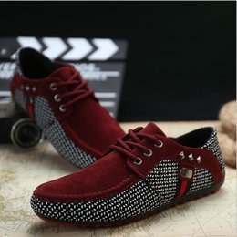 Discount foreign shoes - Spring and Autumn New Breathable Men's Bean Shoes British Foreign Trade Leisure Shoes Fashion Fashion Large Men