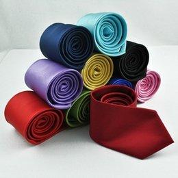 Groomsmen Ties Australia - 8cm group tie, shading tie, men's pure blue tie, business single-color groomsman tie