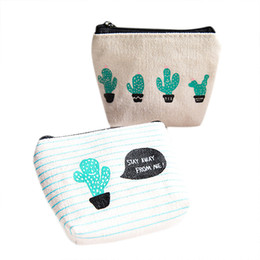 Pouch Pocket Small UK - Maison Fabre New Women Small Canvas Purse Zip Candy Color Retro Mini Coin Change Purse Wallet girl Change Pouch Key Holder