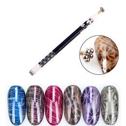 $enCountryForm.capitalKeyWord Australia - Dual Headed Nail Art Cat Eye Magnetic Pen Magic Magnet Stick For Cat Eyes Gel Polish DIY Flower Nail Beauty Manicure Tool