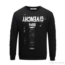 8935f0b516 2018 Sale Men Crew Neck New African Clothing Dashiki Style National Wind  Printing O-neck Long Sleeve Men's T-shirt Broken Hole T-shirts