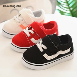 $enCountryForm.capitalKeyWord NZ - New Spring Canvas Children Shoes Breathable Sports Single Shoes Boys Girls Feet Soft Kids Sneakers Babys White Shoes size 21-30
