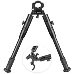 "Wholesale 2019 New 8"" to 10"" Adjustable Hunting Tactical Rifle Bipod - Fits for Most 11mm to 19mm Barrels"