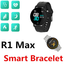 $enCountryForm.capitalKeyWord NZ - R1 Max Smart bracelet fashion watch Waterproof Bluetooth Heart rate Blood Pressure Multi-sports mode Smart Reminder Social Sharing Step pack