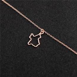 pendant south america Australia - hollow USA State Texas charm pendant Necklaces Hollow Outline Texas Necklace America USA State Necklaces TX State Necklaces jewelry