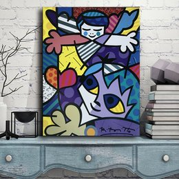 $enCountryForm.capitalKeyWord Australia - Guardian Angel Painting Boom Fish Children Kid Canvas Prints Picture Modular Paintings for Living Room Poster on The Wall Home Decoration