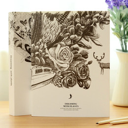 """Notepad Australia - """"Dreaming Plant"""" Drawing Sketchbook Big Size Workbook Diary Journal School Study Student Notebook Notepad"""