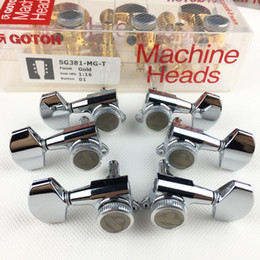 Tuner pegs online shopping - GOTOH SG381 MGT Electric Guitar Locking Machine Heads Tuners Tuning Peg MADE IN JAPAN