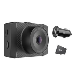 voice controlled cameras Australia - Ultra Dash Camera With 16G Card Black 2.7K Resolution A17 A7 Dual Core Chip Voice Control light sensor 2.7-inch Widescreen