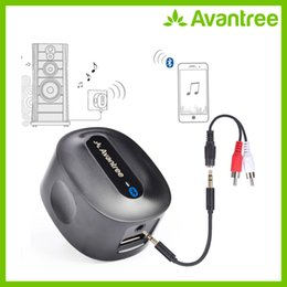 Discount hdmi bluetooth wireless - ortable Audio Video Wireless Adapter Avantree Roxa Plus CHARGE FREE aptX LOW LATENCY Wireless Bluetooth Receiver for Hom