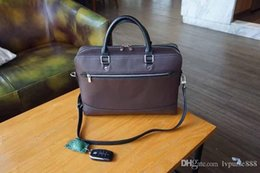 leather computer bags men Australia - designer briefcases genuine leather man business hand bag men business briefcases purse bag real leather computer bags