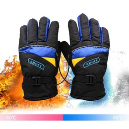 Gloves Windproof Bicycle Australia - Cycling Bicycle Gloves Touch Screen Thermal Windproof Bike Gloves Keep Warm Autumn Winter Thick Sport Equipment