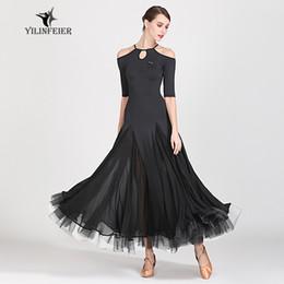 Belly dresses online shopping - New ballroom dance competition dress dance ballroom waltz dresses standard dress women S9054