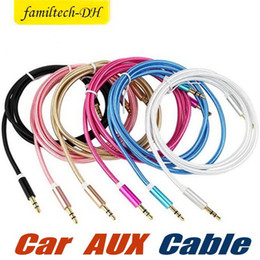 $enCountryForm.capitalKeyWord Australia - Best sellers 1m 3ft 3.5mm Braided AUX Audio Cables Universal Male to Male Jack to Jack For MP3 Speakers