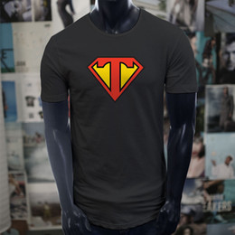 Best Cotton For T Shirts Australia - Super Teacher Hero Wholesale Favorite Best Amazing Black Extended Long T-Shirt T Shirt For Men Best Design Short Sleeve Cotton Custom Plus S