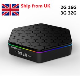 3g Media Player Australia - 10pcsT95Z PLUS Android 7.1 TV BOX 2G 16G 3G 32G Amlogic S912 Octa Core 2.4G 5G Dual WiFi Bluetooth Media Player