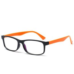 classic plastics NZ - Retail classic brand new eyeglasses frames colorful plastic optical frames plain eyewear glasses in quite good quality JXW269