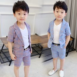 Boy Single Breasted Baby Boys Suits for Weddings Costume Toddler Boys Blazer Jogging Kids Suits on Sale